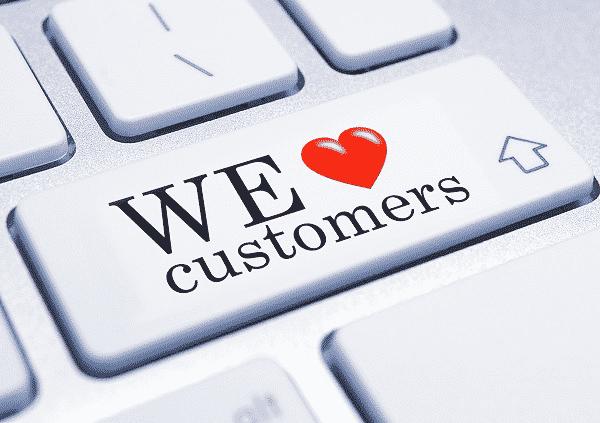 Great ecommerce customer service