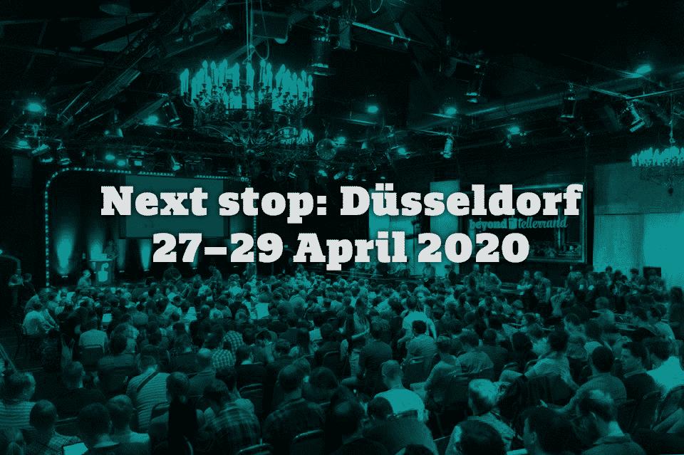 Beyond Tellerrand Düsseldorf 2020