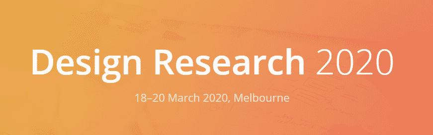 Design Research 2020 - UX Australia