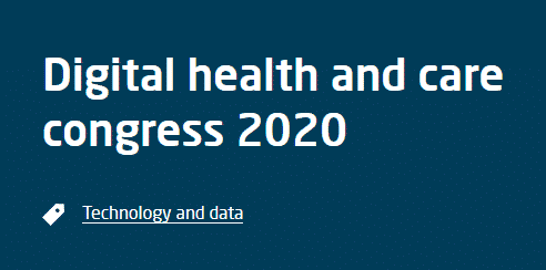 Digital health and care congress 2020