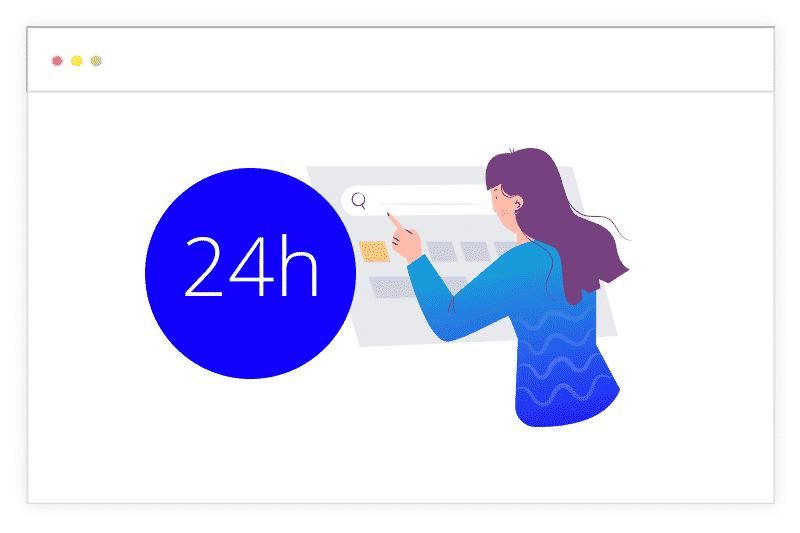 24h user testing