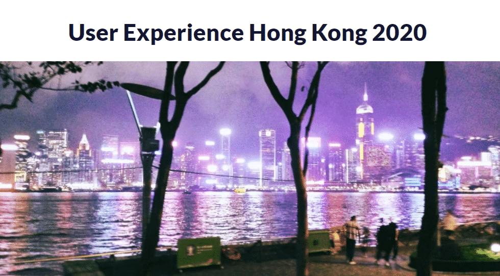 User Experience Hong Kong