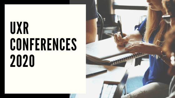 UXR Conferences 2020