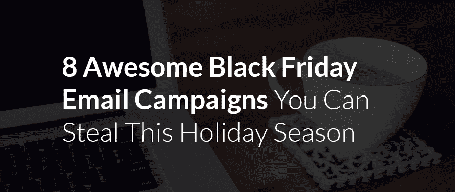 Shopify Black Friday email campaign