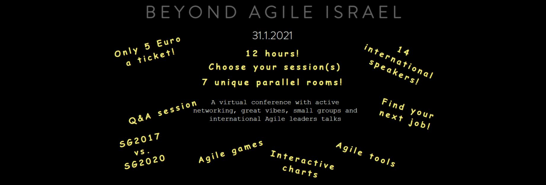 Beyond Agile Israel 2021