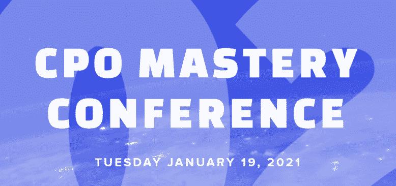 CPO Mastery Conference