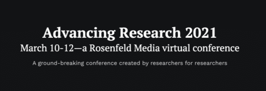 Advancing Research 2021
