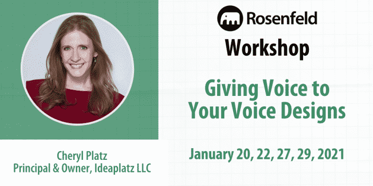Giving Voice To Your Voice Designs