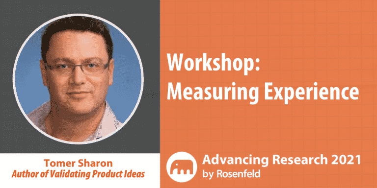 Measuring Experience