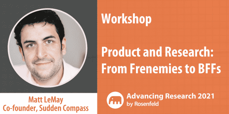 Product And Research- From Frenemies To BFFs