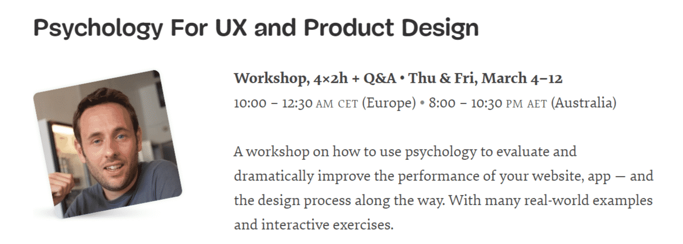 Psychology For UX and Product Design