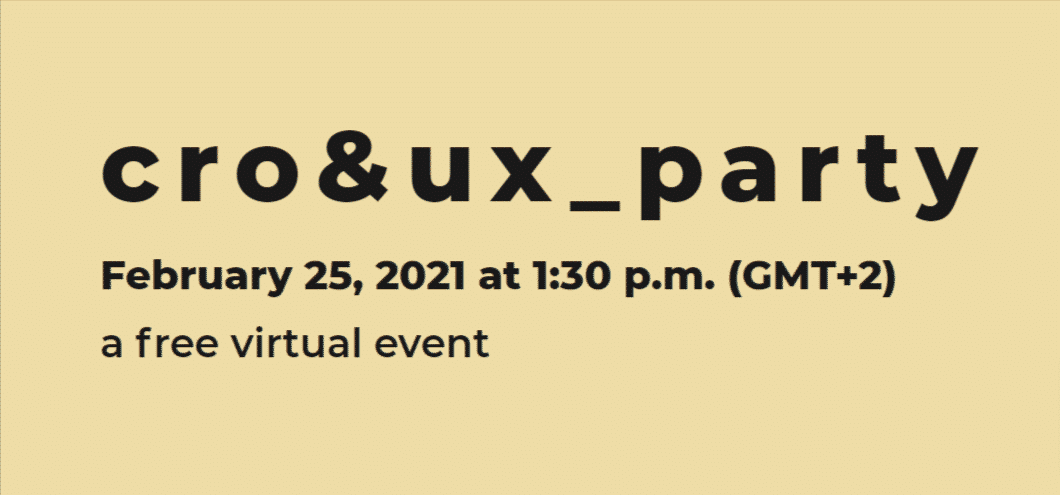 cro&ux_party