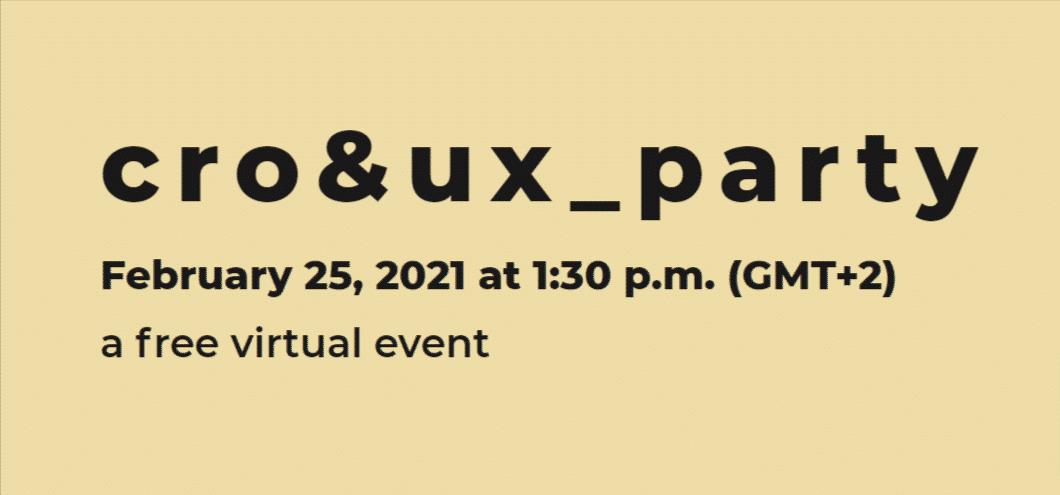 cro&ux_party